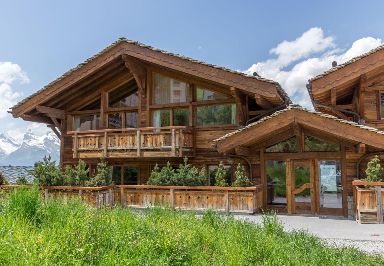 Altiservices Grimpeur Chalet luxe Nendaz 4 Vallées location