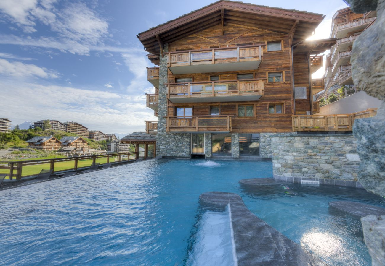 Appartement à Haute-Nendaz - Duplex Grimpeur 13 - ski lift - Spa access