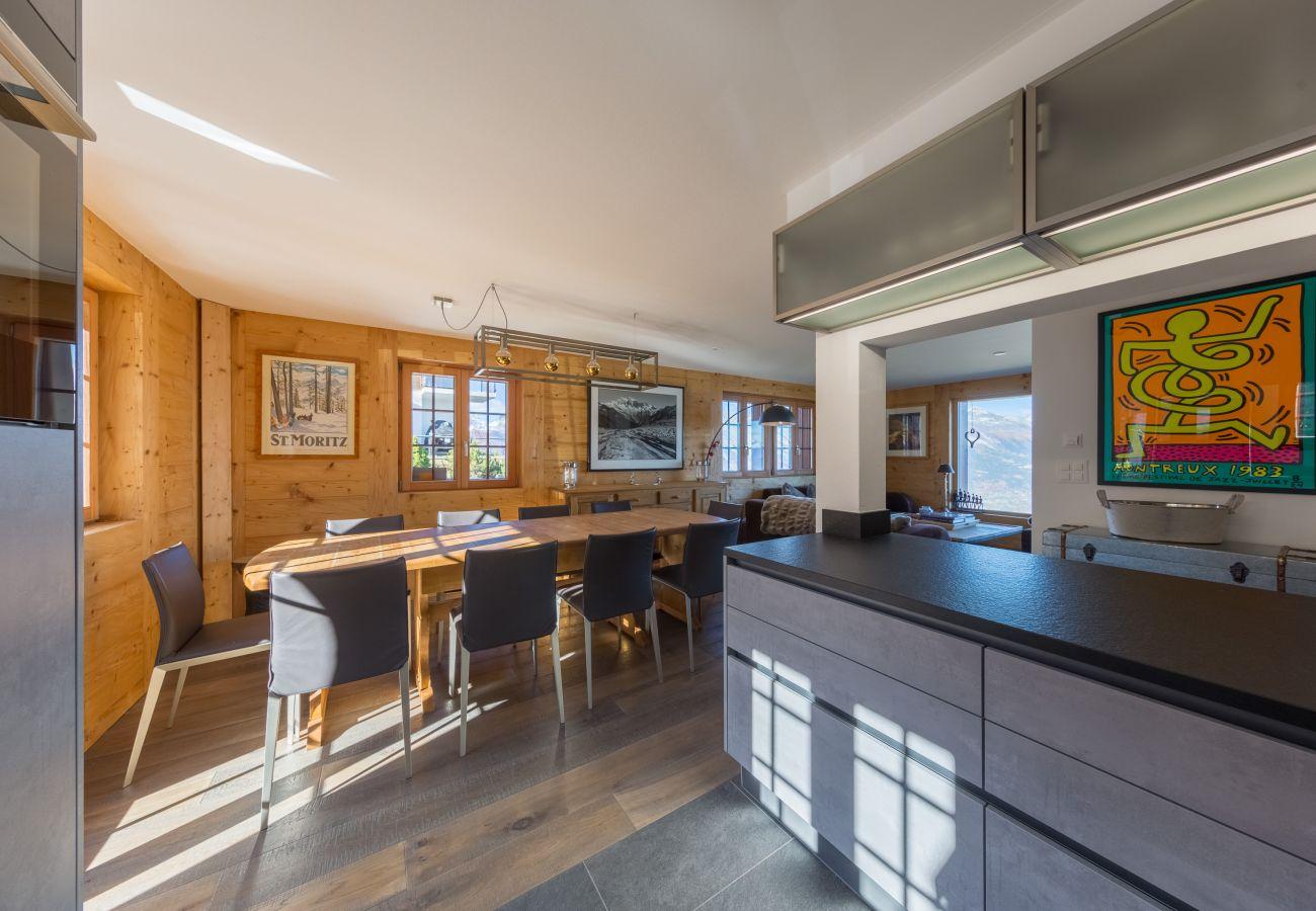 Riquet Chalet luxe Altiservices Nendaz 4 Vallées location