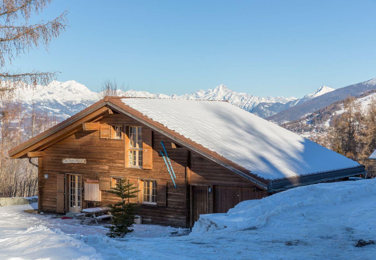 Pierre Blanche chalet Altiservices Nendaz 4 Vallées location