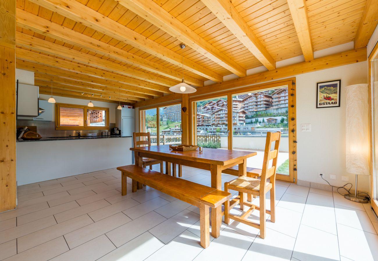 Chalet à Haute-Nendaz - Chalet Yokanga excellent location