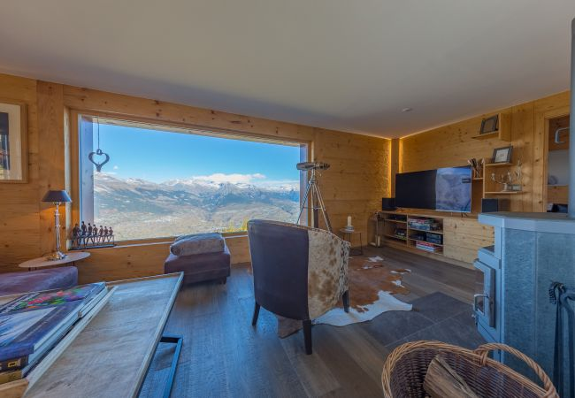 Chalet in Haute-Nendaz - Chalet Riquet - ski-in/out - luxe