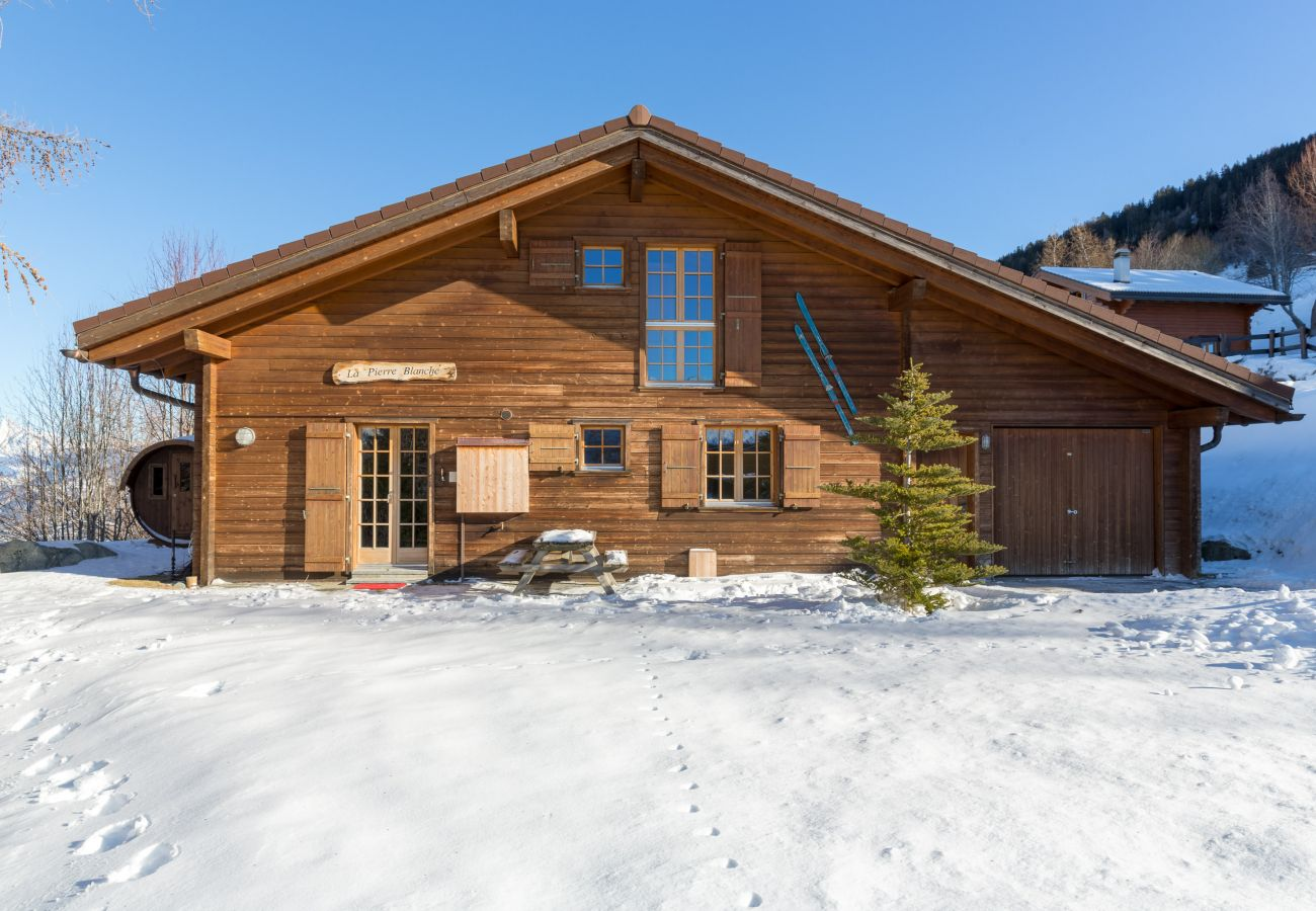 Chalet in Haute-Nendaz - Chalet Pierre Blanche - Ski-in/out