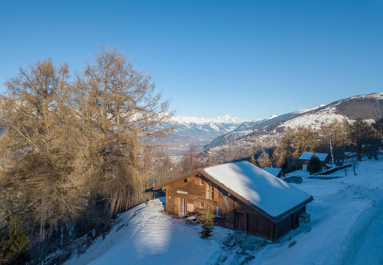 Pierre Blanche chalet Altiservices Nendaz 4 Vallées rental