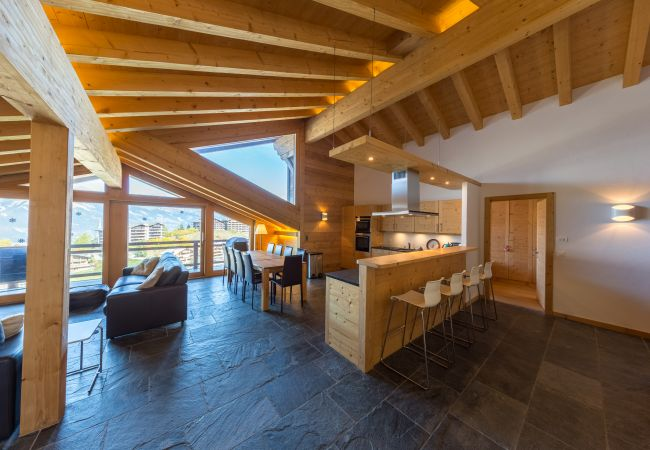 Apartment in Haute-Nendaz - Montagnard 12 - Spa Access