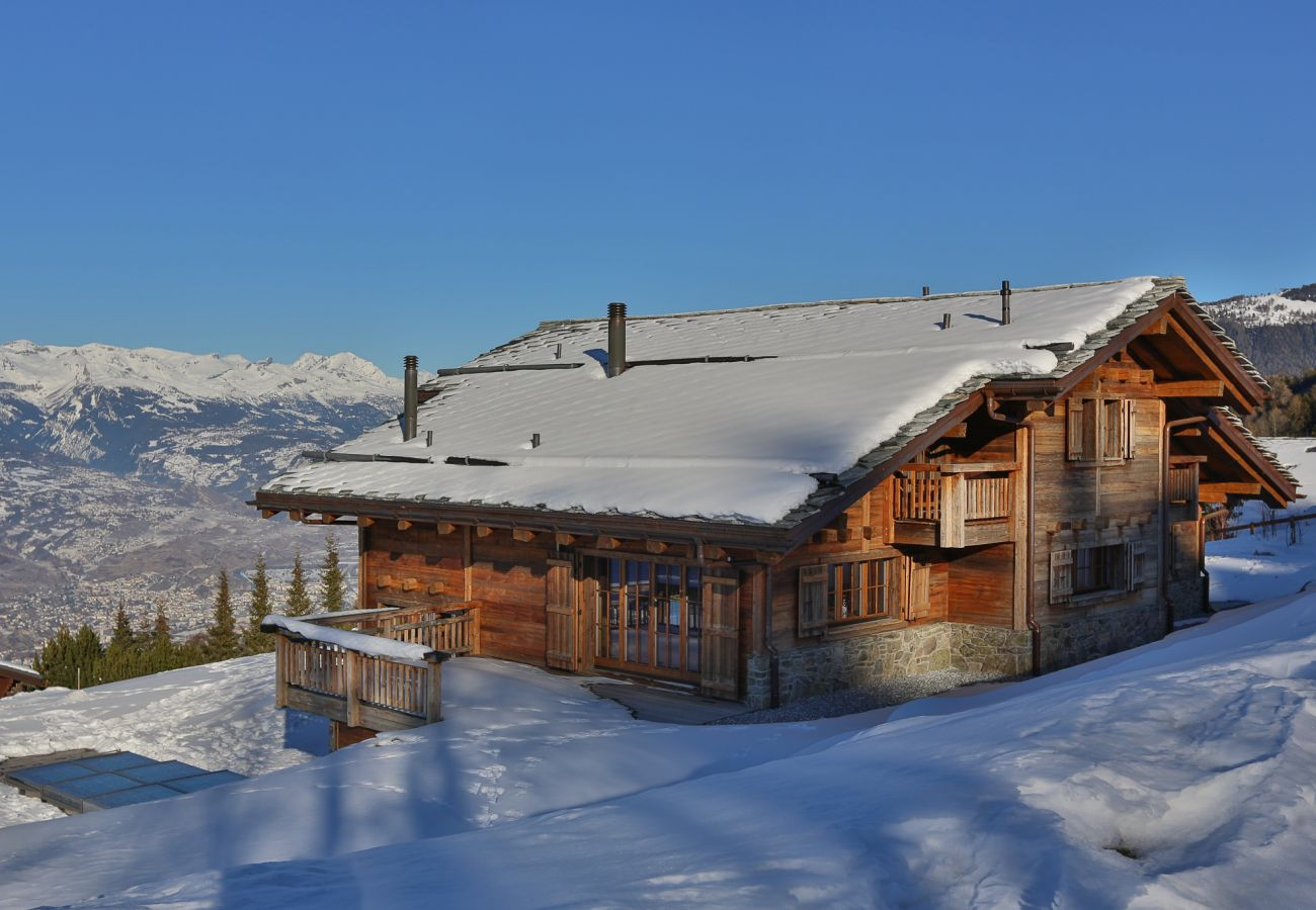 Luxury chalet Alpes Nendaz 4 Vallées breathtaking view