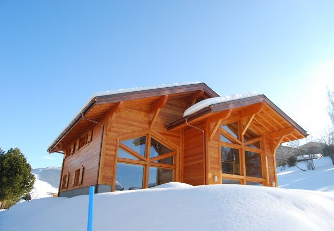 Chalet in Haute-Nendaz - Chalet Pic Vert luxury, spacious, hot tub