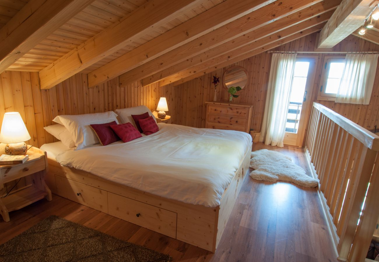 Chalet in Haute-Nendaz - Chalet Lisa, ski-in/out, accessible by car